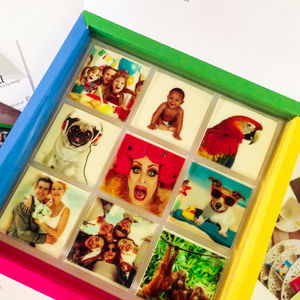 Photo Fectionery Chocolate Gift Box - sweet treats
