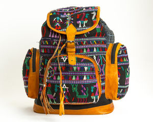 Dolly Plays Leather Backpack - backpacks