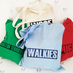 Personalised Tote Bags For Dog Lovers - shopper bags