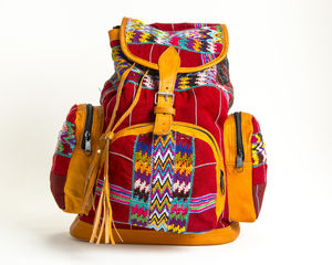 Dolly Lightening Leather Backpack