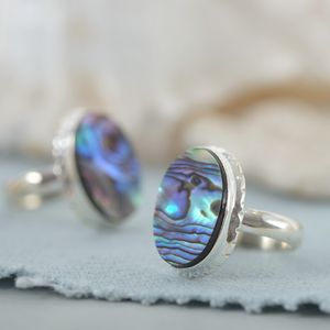 Albalone Shell Ring - rings