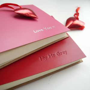 Personalised Photo Album For Lovers