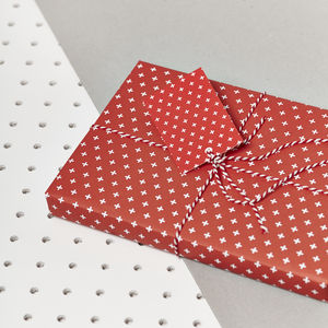 Festive Red Gift Wrap Set