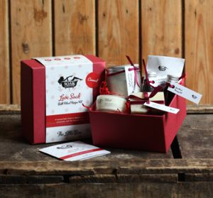 Love Soak Bath Ritual Kit The Little Box - beauty gifts