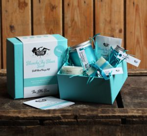 Blanche The Blues Soak Kit The Little Box - bath & body sets