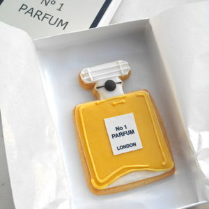 Perfume Bottle Biscuit - 40th birthday gifts