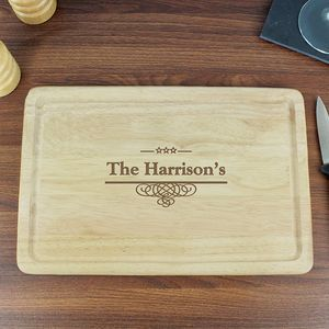 Family Personalised Chopping Board - kitchen accessories