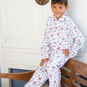 Football Pyjama Set - clothing