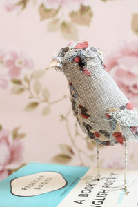 Handmade Fabric Bird 'Celia' - animals & wildlife
