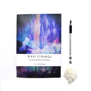 Northern Lights A5 Notebook With Lined Pages