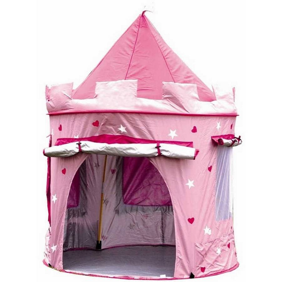 Deluxe Pink Castle Play Tent  sc 1 st  Notonthehighstreet.com & deluxe pink castle play tent by little ella james ...