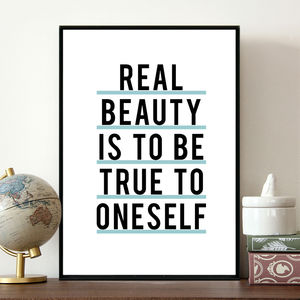 'Be True To Oneself' Inspirational Quote