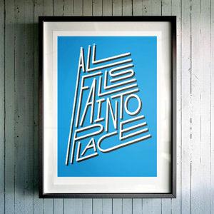 'All Falls Into Place' Fine Art Giclée Print