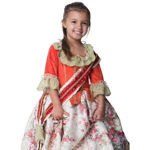 Children's Floral Countess Dress Up Costume
