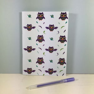 A5 Owl Notebook