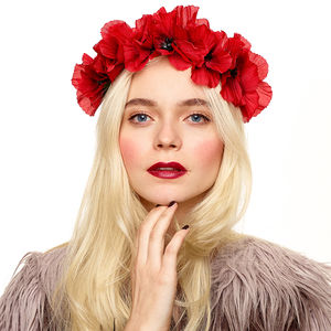 Blair Poppy Crown Headband