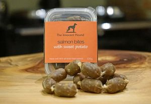 Salmon Bites With Sweet Potato For Dogs Triple Pack - dogs