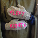 Cycling Woolly Mittens For Bike Lovers