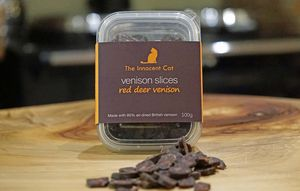 The Innocent Cat Venison Slices For Cats Triple Pack