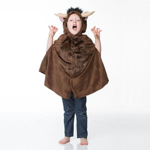 Children's Brown Monster Dress Up Costume