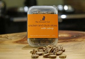 The Innocent Cat Chicken And Duck Slices Triple Pack - gifts for your pet