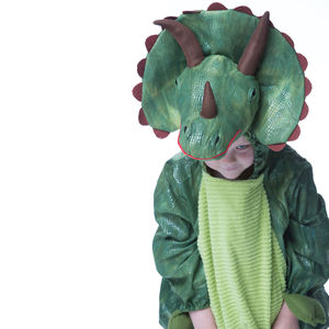 Children's Triceratops Dress Up Costume - toys & games