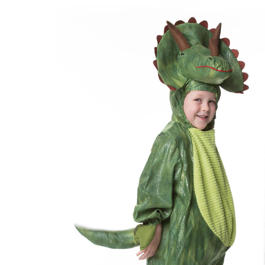 Dress Up: Children's Triceratops Dress Up Costume By Time To Dress