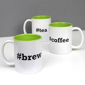 Geeky Hashtag Brew / Tea / Coffee Mug