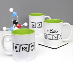 Personalised Periodic Table Mug