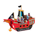 Choose From Two Personalised Wooden Pirate Ships
