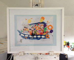 'Ship Ahoy' Original Painting