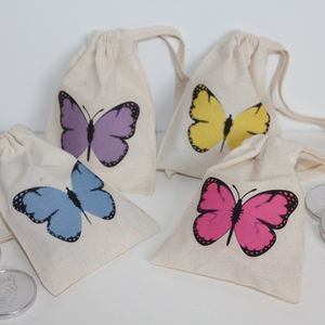 Butterfly Wedding Favour Bags