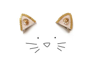 Cat Clips - hair accessories