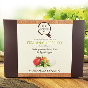 Make Your Own Italian Cheese Kit - under £25