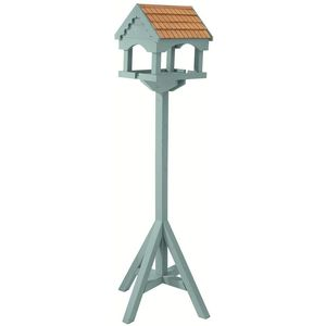Duck Egg Blue Painted Bird Table