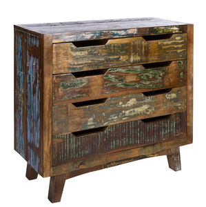 Tikal Reclaimed Wood Chest Of Drawers