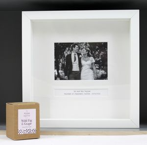 Personalised Wedding Day Frame - photography & portraits