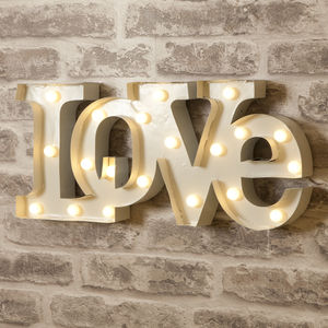 Love Letter Lights - children's room