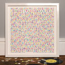 Personalised 'Our Song' Typographic Lyric Print