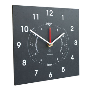 Eco Recycled Time And Tide Clock - shop by price