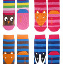 Toby Tiger Stripey Character Socks