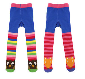 Toby Tiger Stripey Character Tights - new baby gifts