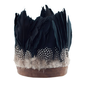 Willow Oversize Feather Headdress - head pieces