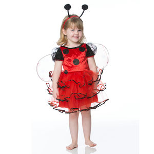 Children's Ladybird Dress Up Costume