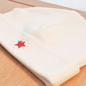 Red Star Beanie - hats, scarves & gloves