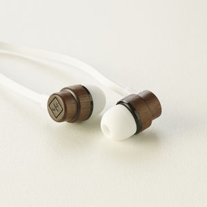Eco Friendly Wood Earphones - technology accessories