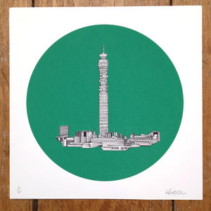 BT Tower London Print