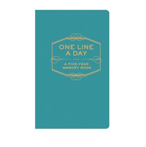 One Line A Day Five Year Diary Blue
