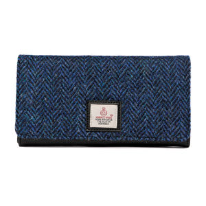 Harris Tweed Ladies Purse Cloudberry - purses & wallets