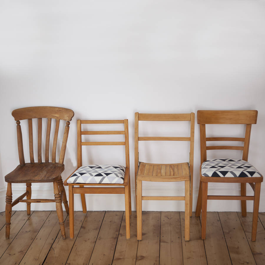 Mismatched Dining Chair Set #Two